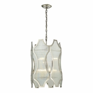ELK 31457-3-3 Benicia Contemporary Polished Nickel Entryway Light Fixture