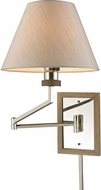 ELK 31477-1 Madera Polished Nickel Wall Swing Arm Lamp