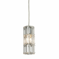 ELK 31486-1 Cynthia Polished Chrome Mini Pendant Light