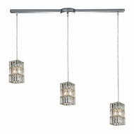 ELK 31488-3L Cynthia Polished Chrome Multi Hanging Light Fixture
