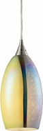 ELK 31495-1 Horizon Contemporary Satin Nickel Mini Drop Ceiling Light Fixture