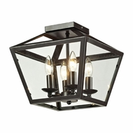 ELK 31506-4 Alanna Oil Rubbed Bronze Ceiling Light Fixture