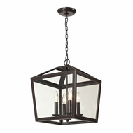 ELK 31507-4 Alanna Oil Rubbed Bronze Foyer Lighting Fixture