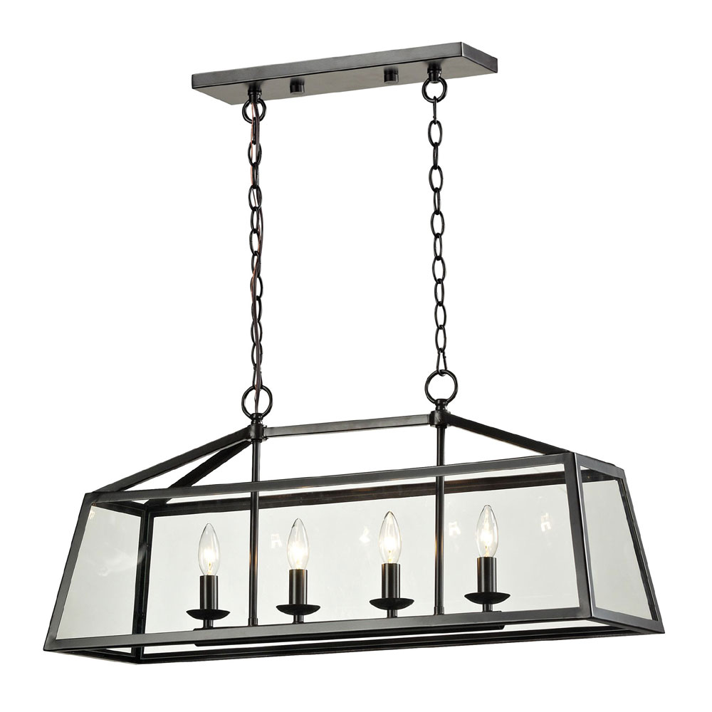 ELK 31508 4 Alanna Oil Rubbed Bronze Kitchen Island Lighting. Loading Zoom