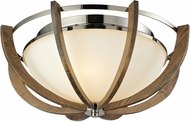 ELK 31551-3 Janette Contemporary Polished Nickel Ceiling Light Fixture