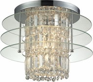 ELK 31580-3 Zoey Polished Chrome Ceiling Lighting Fixture