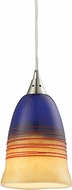ELK 31615-1 Canyon Modern Satin Nickel Mini Drop Ceiling Lighting