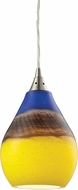 ELK 31616-1 Dunes Contemporary Satin Nickel Mini Pendant Lighting