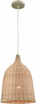 ELK 31643-1 Pleasant Fields Russet Beige Lighting Pendant