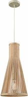 ELK 31644-1 Pleasant Fields Russet Beige Mini Pendant Lamp