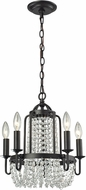 ELK 31815-5 Chandette Oil Rubbed Bronze Mini Chandelier Light