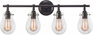 ELK 31933-4 Jaelyn Contemporary Oil Rubbed Bronze 4-Light Bathroom Light Sconce