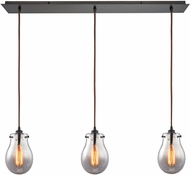 ELK 31935-3LP Jaelyn Modern Oil Rubbed Bronze Multi Pendant Lighting
