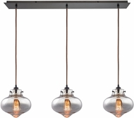 ELK 31955-3LP Kelsey Modern Oil Rubbed Bronze Multi Hanging Lamp