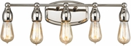 ELK 31972-5 Vernon Modern Polished Nickel 5-Light Vanity Light