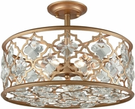 ELK 32092-4 Armand Matte Gold Overhead Lighting Fixture