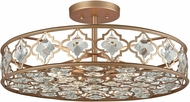 ELK 32093-8 Armand Matte Gold Ceiling Lighting