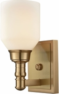 ELK 32260-1 Baxter Satin Brass Wall Lamp