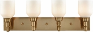 ELK 32263-4 Baxter Satin Brass 4-Light Bathroom Lighting