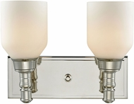 ELK 32271-2 Baxter Polished Nickel 2-Light Lighting For Bathroom