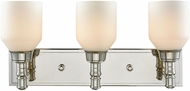 ELK 32272-3 Baxter Polished Nickel 3-Light Bath Lighting