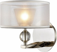 ELK 32290-1 Corisande Modern Polished Nickel Halogen Sconce Lighting