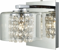 ELK 32300-1 Springvale Polished Chrome Halogen Light Sconce