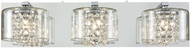 ELK 32301-3 Springvale Polished Chrome Halogen 3-Light Vanity Light