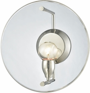 ELK 32320-1 Disco Contemporary Polished Nickel Lighting Sconce