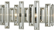 ELK 33010-2 Crystal Heights Polished Chrome 16  Bathroom Vanity Light
