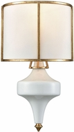 ELK 33050-1 Ceramique Antique Gold Leaf Sconce Lighting