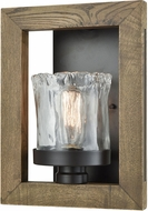 ELK 33070-1 Timberwood Modern Oil Rubbed Bronze Lighting Sconce