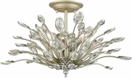 ELK 33181-3 Mullica Aged Silver Ceiling Light Fixture