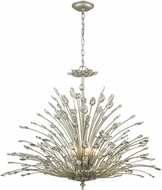 ELK 33185-8 Mullica Aged Silver 36  Chandelier Light