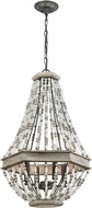 ELK 33193-4 Summerton Contemporary Washed Gray / Malted Rust 18 Foyer Lighting Fixture