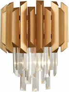 ELK 33210-2 Seneca Falls Matte Gold Wall Sconce Lighting