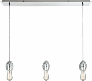 ELK 33220-3LP Socketholder Polished Chrome Multi Ceiling Pendant Light