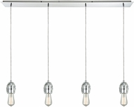 ELK 33220-4LP Socketholder Polished Chrome Multi Drop Ceiling Light Fixture