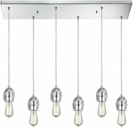 ELK 33220-6RC Socketholder Polished Chrome Multi Drop Lighting Fixture