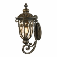 ELK 45071-1 Logansport Traditional Hazelnut Bronze Exterior Lighting Sconce