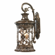 ELK 45081-1 Orlean Traditional Hazelnut Bronze Exterior Wall Sconce Lighting
