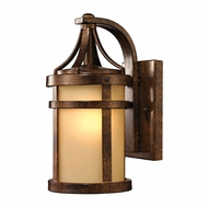 ELK 45095-1 Winona Hazelnut Bronze Outdoor Wall Lamp