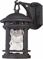 ELK 45110-1 Costa Mesa Weathered Charcoal Exterior Wall Lamp
