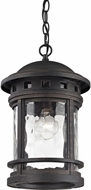 ELK 45113-1 Costa Mesa Weathered Charcoal Outdoor Ceiling Light Pendant