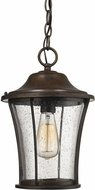 ELK 45153-1 Morganview Hazelnut Bronze Outdoor Drop Ceiling Light Fixture