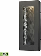 ELK 45190-LED Jeremy Modern Matte Black LED Exterior Wall Sconce