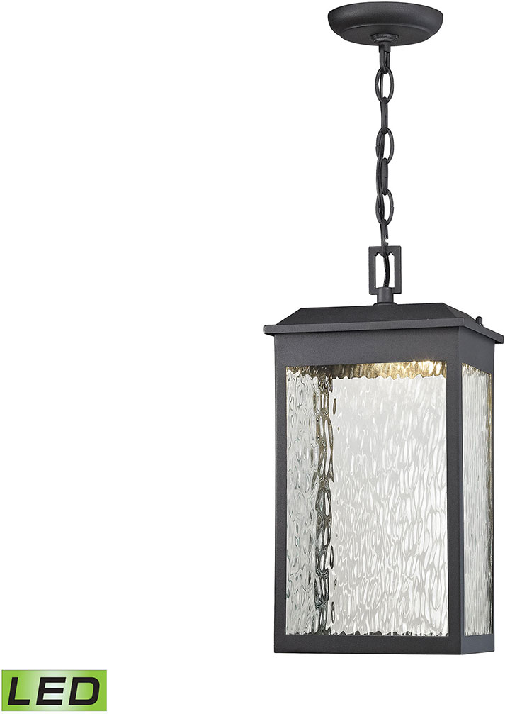 Contemporary Outdoor Pendant Lighting Elk 45203 led newcastle contemporary textured matte black led elk 45203 led newcastle contemporary textured matte black led outdoor pendant lighting loading zoom workwithnaturefo