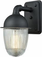 ELK 45250-1 Channing Modern Matte Black Outdoor Lamp Sconce