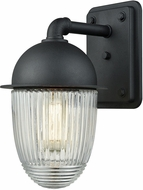 ELK 45251-1 Channing Contemporary Matte Black Exterior Wall Sconce Lighting