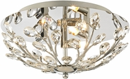 ELK 45260-3 Crystique Polished Chrome Halogen Ceiling Lighting